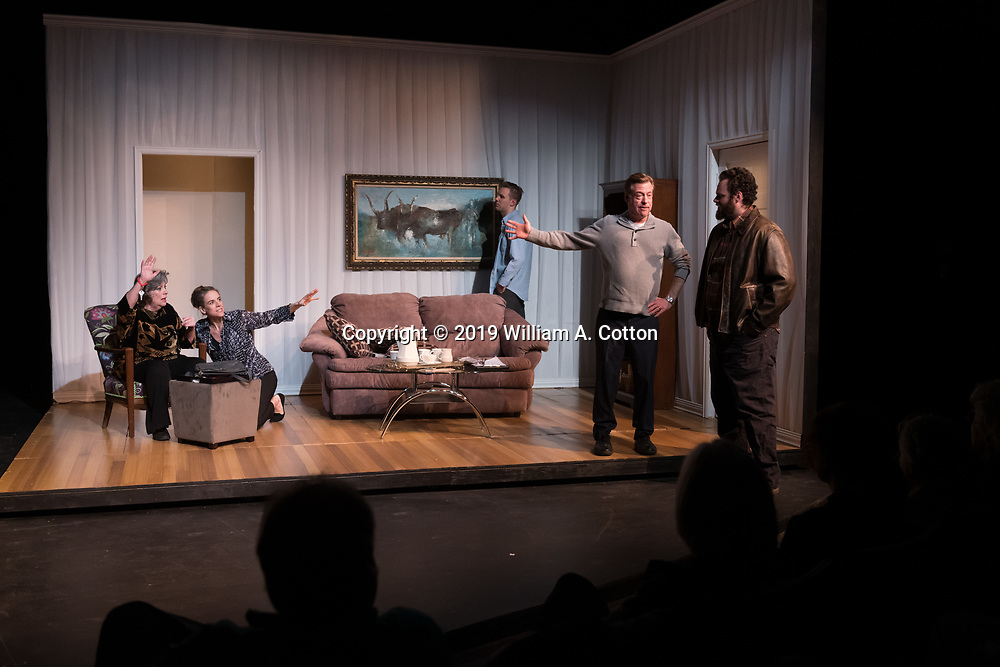 The Bas Bleu Theatre Company performs The Waverly Gallery, January 31, 2019.