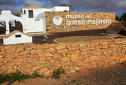 Museum for Majorero goat cheese, Antigua, Fuerteventura, Canary Islands, Spain