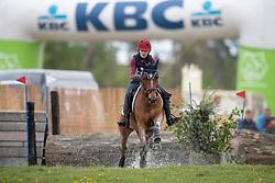 Sutherland Julie, BEL, Kairo E van het Juxschot<br /> Nationaal Kampioenschap Eventing Minderhoud 2018<br /> © Hippo Foto - Dirk Caremans