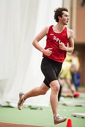 Bowdoin Indoor 4-way track meet: mens 3000 meters