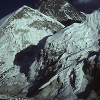 NEPAL, HIMALAYA. Sunset on Mount Everest