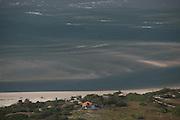 Barreirinhas_MA, Brasil.<br /> <br /> Parque Nacional dos Lencois Maranhenses em Barreirinhas, Maranhao. Na foto, a foz do Rio Preguicas.<br /> <br /> Lencois Maranhenses National Park in Barreirinhas, Maranhao. In this photo the mouth of Preguicas river.<br /> <br /> Foto: LEO DRUMOND / NITRO