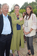 CHARLOTTE PHILLLIPS; ZAC GERTLER; CANDIDA GERTLER, Dinner to celebrate the 10th Anniversary of Contemporary Istanbul Hosted at the Residence of Freda & Izak Uziyel, London. 23 June 2015