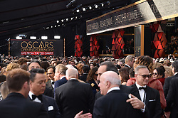 A general view of the arrivals for the 90th annual Academy Awards (Oscars) held at the Dolby Theatre in Los Angeles, CA, USA, on March 4, 2018. Photo by Lionel Hahn/ABACAPRESS.COM