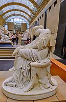 France, Paris (75), zone classée Patrimoine Mondial de l'UNESCO, Musée d'Orsay, Penelope par Jules Cavelier // France, Paris, Orsay museum, Penelope from Jules Cavelier