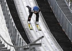 01.02.2019, Energie AG Skisprung Arena, Hinzenbach, AUT, FIS Weltcup Ski Sprung, Damen, Qualifikation, im Bild Carina Vogt (GER) // Carina Vogt (GER) during the woman's Qualification Jump of FIS Ski Jumping World Cup at the Energie AG Skisprung Arena in Hinzenbach, Austria on 2019/02/01. EXPA Pictures © 2019, PhotoCredit: EXPA/ Reinhard Eisenbauer