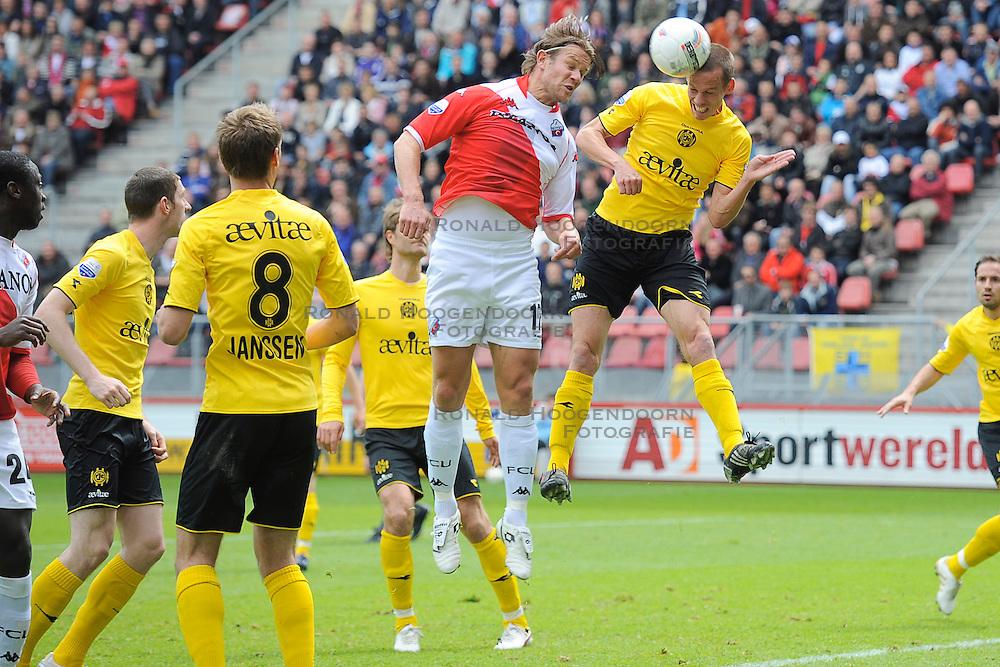 16-05-2010 VOETBAL: FC UTRECHT - RODA JC: UTRECHT<br /> FC Utrecht verslaat Roda in de finale van de Play-offs met 4-1 en gaat Europa in / Alje Schut<br /> ©2010-WWW.FOTOHOOGENDOORN.NL