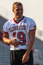 """16 August 2004    QB Luke Drone   """"Meet the Redbirds"""" evening at Illinois State University, Normal IL"""