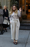 Dec. 16, 2015 - New York City, NY, USA - <br /> <br /> Actress Drew Barrymore arrives at Club Monaco on Fifth Avenue to sign copies of her new book 'Wildflower'<br /> ©Exclusivepix Media