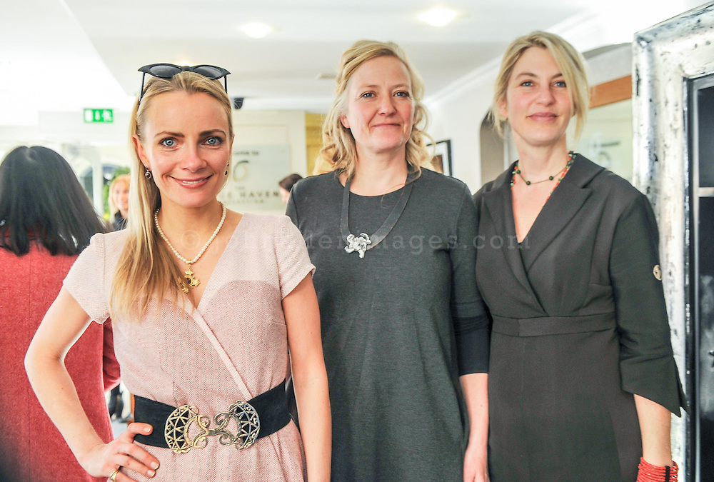 REPRO FREE<br /> Charlotte Cargin, Charlotte and Jane with sisters Helle Hesner from H2 Studio and Jane Skovgard from Charlotte and Jane pictured at the Irish Fashion Design Showcase organised by frock advisor and Wear We Wander at the Blue Haven Hotel in Kinsale.<br /> Picture. John Allen<br /> <br /> For immediate release - Contact & Enquiries for further details Bronwyn Connolly 0894389844<br /> <br /> Frockadvisor, Ireland's only Fashion app supporting independent boutiques and designers teamed up with online Ethical Fashion Boutique, Wear we Wander, to showcase and celebrate the very best in Irish Fashion Design in the stunning setting of Aperitif at The Blue Haven, Kinsale. Guests previewed SS16 Collections from well known Irish Designers including Alice Halliday, Charlotte & Jane, Wear we Wander, Celtic Fusion, Mamukko,&  Helle Helsner. While indulging Handmade Irish Chocolate, Wine and Tapas, all while listening to the haunting sounds of the Harp. Guests were truly immersed in the very fantastic display of Irish Design & Fashion. <br /> <br /> frockadvisor is the brain child of Fashion Gurus Brendan Courtney and Sonya Lennon, who between them have many industry years under their beautifully crafted belts. Their careers have included TV broadcasting, styling, journalism and designing.<br /> Using all that knowledge, they developed frockadvisor, through a deep understanding of the industry and a clear sense of what the customer wants. Independent retailers, designers and their customers love each other and are driven by a common search for something different. Fashion is magic and the experience of being advised and assisted by people who you respect and trust is much more beautiful than simply pressing 'buy it now'. frockadvisor is pioneering a new kind of customer experience and providing boutique and designers an opportunity to connect with fashion lovers on a whole new level. <br /> <br /> frockadvisor is delighted be involved with anything that promotes b