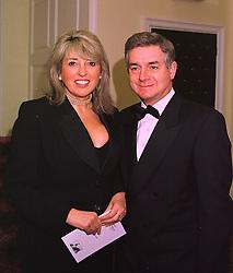 SIR NICHOLAS & LADY LLOYD she is Eve Pollard, at a reception in London on 3rd February 1998.MFC 13
