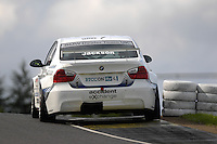 2008 British Touring Car Championship.  Knockhill, Scotland, United Kingdom.  16th-17th August 2008.  (7) - Mat Jackson (GBR) - Jacksons MSport BMW 320si E90.  World Copyright: Peter Taylor/PSP. Copy of publication required for printed pictures. Every used picture is fee-liable.