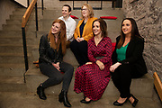 02/04/2019 Repro free:  <br /> <br /> Kathryn Harnett- Senior Consultantat Milltown Partners LLP, Mark Quick, Founding Director 9th Impact and Founding Director, Nephin Whiskey, Mary Rodgers- Innovation Community Managerat the Portershed Niamh Costello GTC General Manager and Nicola Barrett, Senior Marketing Managerat Connacht Rugby at Harvest in the Mick Lally Theatre , an opportunity to share ideas for innovation and growth and discuss how to cultivate the city as a destination for innovation, hosted by GTC  and Sponsored by AIB and The Sunday Business Post .<br /> <br /> A keynote address Start Up to Multinational - Positioning & Marketing Software for an International Audience from Joe Smyth, VP of R&D at Genesysat Genesys and a Panel Discussion on International Growth Through Innovation and Positioning<br /> Mary Rodgers- Innovation Community Managerat the Portershed (moderator)<br /> Kathryn Harnett- Senior Consultantat Milltown Partners LLP, Giovanni Tummarello, Founder and CPOat Siren,  Mark Quick, Founding Director 9th Impact and Founding Director, Nephin Whiskey, Nicola Barrett, Senior Marketing Managerat Connacht Rugby<br />  Photo: Andrew Downes, Xposure