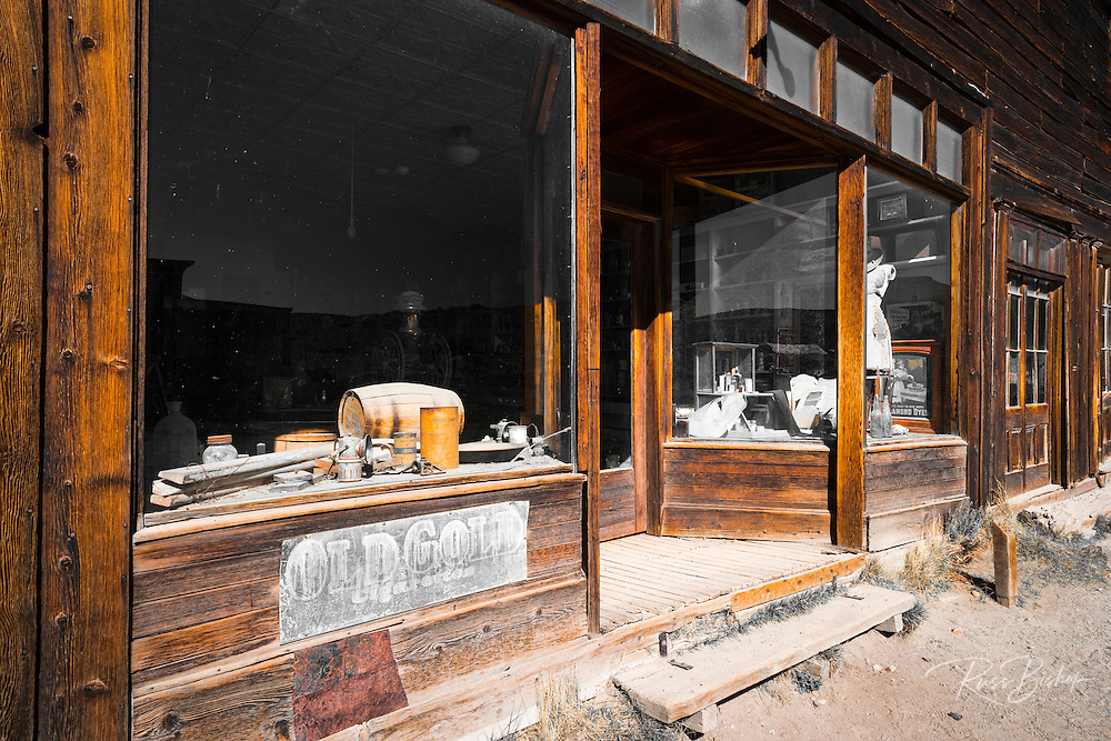 Boone Store and Warehouse, Bodie State Historic Park, California USA