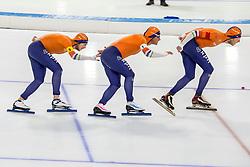 10-11-2017 NED: ISU World Cup, Heerenveen<br /> Team Pursuit men,