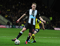 Football - 2019 / 2020 Emirates FA Cup - Fourth Round, Replay: Oxford United vs. Shrewsbury United<br /> <br /> Sean Longstaff of Newcastle, at the Kassam Stadium (Grenoble Road).<br /> <br /> COLORSPORT/ANDREW COWIE