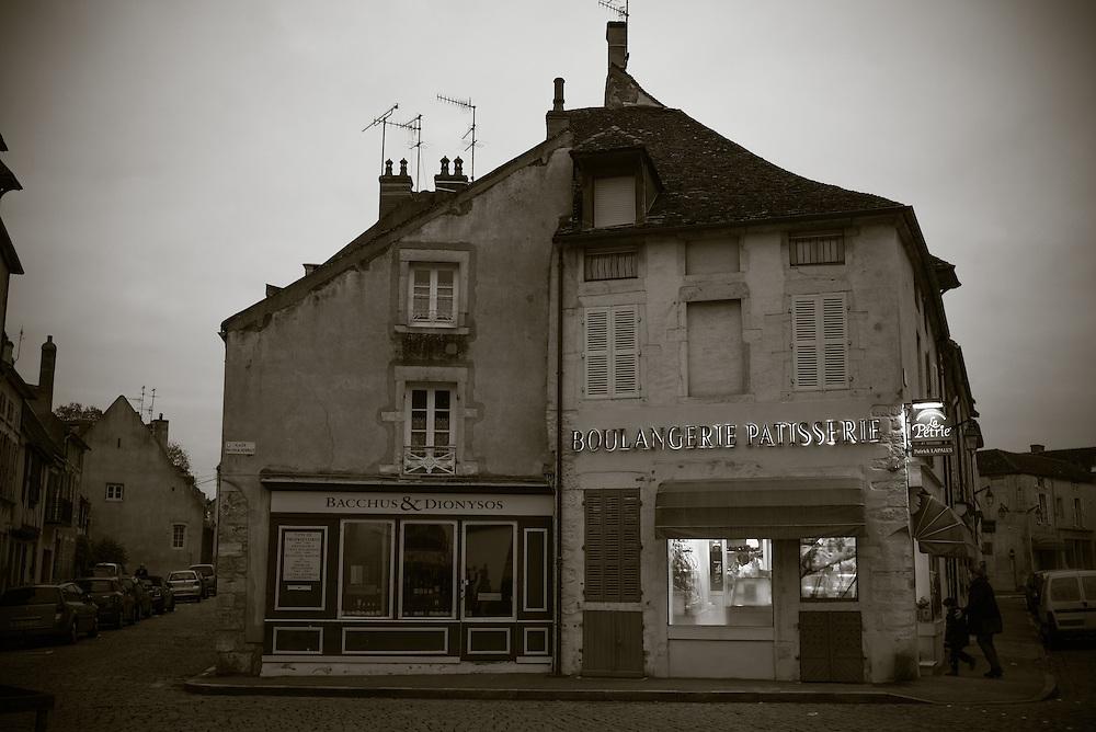 Patisserie, Beaune, France. November 27, 2013. Photograph ©2013 Darren Carroll
