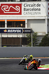June 9, 2017 - Barcelona, Catalonia, Spain - 44 Pol Espargaro from Spain of Red Bull KTM Factory Racing (KTM) and 19 Alvaro Bautsita from Spain of Pull&Bear Aspar Team (Ducati) during the Monter Energy Catalonia Grand Prix, at the Circuit de Barcelona-Catalunya on June 9 of 2017. (Credit Image: © Xavier Bonilla/NurPhoto via ZUMA Press)