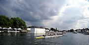 Henley Royal Regatta, Henley on Thames, ENGLAND,  1996 Princess Elizabeth Challenge Cup, Brentwood College School, CANADA.beat St. Edward's School, .Photo,  Peter Spurrier/Intersport Images.  Mob +44 7973 819 551/email images@intersport-images.com