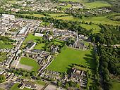 Killarney cathedral aerial