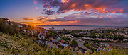 This was very beautiful midnight sunset from Trondheim with amazing colors. 12 pictures have been stiched. www.aziznasutiphotography.com