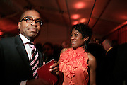 Reggie Canal and Jocelyn Taylor at The Apollo Theater 4th Annual Hall of Fame Induction Ceremony & Gala with production design by In Square Circle Design Concepts, held at The Apollo Theater on June 2, 2008