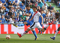 February 23, 2019 - Getafe, Madrid, Spain - Molina of Getafe in action during La Liga Spanish championship, football match between Getafe and Rayo Vallecano, February 23th, in Coliseum Alfonso Perez in Getafe, Madrid, Spain. (Credit Image: © AFP7 via ZUMA Wire)