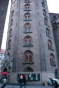 Copenhagen, Denmark. Roundtower in the old city where Hungry Planet exhibit was held January to March 2011.