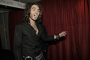 Russell Brand, GQ Men Of The Year Awards, Royal Opera House, London, WC2. 5 September 2006. ONE TIME USE ONLY - DO NOT ARCHIVE  © Copyright Photograph by Dafydd Jones 66 Stockwell Park Rd. London SW9 0DA Tel 020 7733 0108 www.dafjones.com