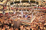 Oktoberfest in Munich, Germany on October 5, 2018