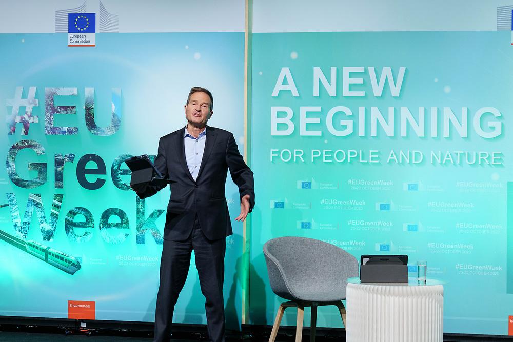 Brussels , Belgium , 20 October 2020 - Green Week 2020 - <br /> Opening Ceremony.<br /> <br />  © EU - Denis Closon