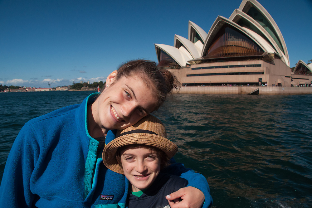 Eliza and Max, Opera House, Sydney, New South Wales, Australia