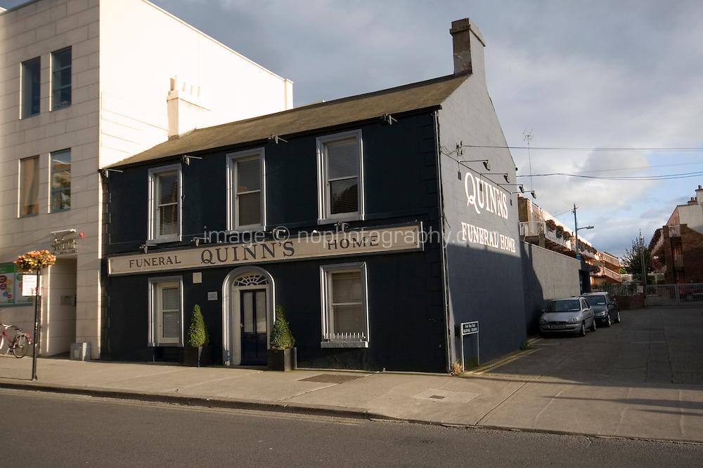Funeral home in Glasthule Village Dublin Ireland
