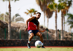 Scott Golbourne of Bristol City shoots during training - Mandatory by-line: Matt McNulty/JMP - 18/07/2017 - FOOTBALL - Tenerife Top Training Centre - Costa Adeje, Tenerife - Pre-Season Training