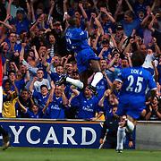 Chelsea William Gallas celebrates scoring their opening goal