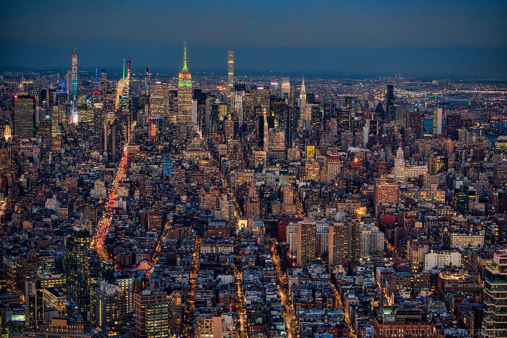Midtown Manhattan Illuminated