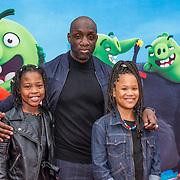 NLD/Amsterdam/20190814 - Premiere Angry Birds 2, Murth Mossel met zijn dochters