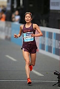 Mao Ichiyama places sixth in the women's race in 2:32:20 during the Marathon Grand Championship, Sunday Sept. 15 2019, in Tokyo. (Agence SHOT/Image of Sport)