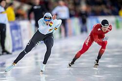 10-12-2016 NED: ISU World Cup Speed Skating, Heerenveen<br /> 1500 m men / Bart Swings BEL