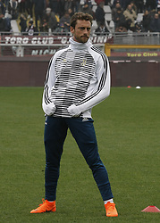 February 18, 2018 - Turin, Italy - Claudio Marchisio during the Serie A match between Torino FC and Juventus at Stadio Olimpico di Torino on February 18, 2018 in Turin, Italy. (Credit Image: © Loris Roselli/NurPhoto via ZUMA Press)