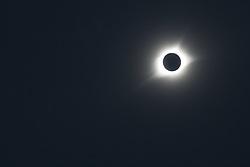 August 21, 2017 - Arnold, Nebraska, U.S. - Arnold, Nebraska - 21 August 2017 - A total eclipse of the sun, as seen in the Nebraska Sandhills. (Credit Image: © Jim West via ZUMA Wire)