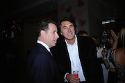 DAVID LINLEY AND BRYAN FERRY. Selfridges Las Vegas dinner hosted by  hon Galen , Hillary Weston and Allanah Weston. Selfridges Oxford St. 20 April 2005. ONE TIME USE ONLY - DO NOT ARCHIVE  © Copyright Photograph by Dafydd Jones 66 Stockwell Park Rd. London SW9 0DA Tel 020 7733 0108 www.dafjones.com