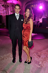 BEN ELLIOT and MARY-CLARE WINWOOD at Quintessentially's 10th birthday party held at The Savoy Hotel, London on 13th December 2010.