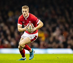 Johnny Mcnicholl of Wales<br /> <br /> Photographer Simon King/Replay Images<br /> <br /> Friendly - Wales v Barbarians - Saturday 30th November 2019 - Principality Stadium - Cardiff<br /> <br /> World Copyright © Replay Images . All rights reserved. info@replayimages.co.uk - http://replayimages.co.uk