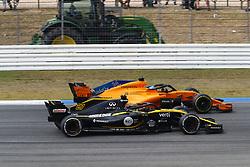 July 22, 2018 - Hockenheim, Germany - Motorsports: FIA Formula One World Championship 2018, Grand Prix of Germany, .#27 Nico Hulkenberg (GER, Renault Sport Formula One Team), #14 Fernando Alonso (ESP, McLaren F1 Team) (Credit Image: © Hoch Zwei via ZUMA Wire)