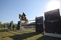 Deusser Daniel, (GER), First Class van Eeckelgem<br /> Longines Global Champions Tour - Grand Prix of Hamburg<br /> Hamburg - Hamburger Derby 2016<br /> © Hippo Foto - Stefan Lafrentz