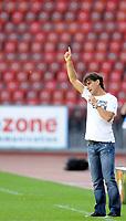 Sion Trainer Didier Tholot. © Valeriano Di Domenico/EQ Images