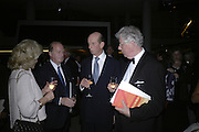 THE DUKE OF KENT, Royal Festival Hall First Night Gala. Southbank Centre. London. 11 June 2007.  -DO NOT ARCHIVE-© Copyright Photograph by Dafydd Jones. 248 Clapham Rd. London SW9 0PZ. Tel 0207 820 0771. www.dafjones.com.