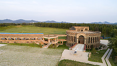 Aerial Photography of Seven Star Chateau in NE China - 03 July 2018