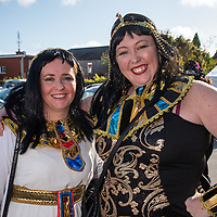 REPRO FREE<br /> Margaret O'Connor, Ballinhassig and Alice Harrington, Kinsale pictured at the 43nd Kinsale Gourmet Festival Mad Hatters Taste of Kinsale.<br /> Picture. John Allen